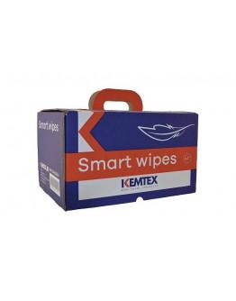 KEMTEX SMARTWIPE Degreasing wipe turquoise